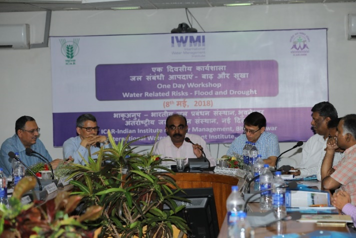 ICAR-IWMI Workshop on 8 May, 2018